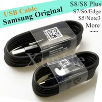 Wholesale Original Micro Usb Charger Cable - Type C Cable Samsung Genuine Micro USB Cable Original USB Cables Fast Charger Date Sync Cable Universal Adapter For Samsung Type C