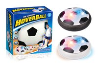 luz pairando venda por atacado-2017 novo interior Suspension Air futebol venda Quente interação Pai-filho Hover bola Com luz Air Power Soccer Ball 15 cm / 6 polegadas C2295