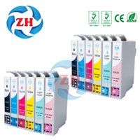 Wholesale Ink For Epson Stylus - 12 Pack Ink Cartridges T0821-T0826 Compatible for Epson Stylus Photo TX700 TX800 TX710W TX650 TX810FW TX820FWD RX615 R270 R290 T50 T59