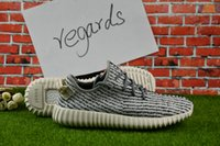 Wholesale Lace Up Oxfords For Women - 2017 Cheap Online Wholesale Best Quality For Sale Authentic Kanye West Boost 350 oxford tan Men's & Women's Running shoes With box