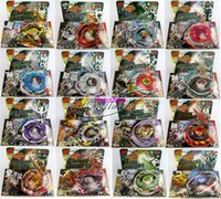 Wholesale Plastic Beyblades - BEYBLADE METAL FUSION FIGHT STARTER BEYBLADE SPIN TOP TOY BEYBLADES MIX ALL MODEL OF BB116