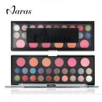 Wholesale Eyeshadow 26 Colors - Wholesale-Naras Brand 26 colors Make up Set Eyeshadow Make up Color brand Makeup Powder Palette Maquiagem