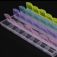 Wholesale Storage Box Seal - Plastic Compartment Storage Box Layers Of 28 Carry Portable Mini Seal Small Multi-Function Receive A Case Design Box