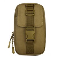 Wholesale Free Camping Equipment - Wholesale Men Waist Pack Small Tactical Bag Molle EDC Equipment Hikings Bag Messenger Campings Sling Bag Free Shipping
