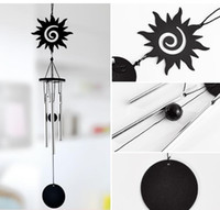 Wholesale Handmade Crafts For Home Decoration - Wedding Handmade Metal Wind Chime Crafts Hang Aluminum Tube Music Wind Bell Decorations For Home