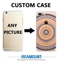 Wholesale Iphone Cell Phone Pictures - 3D Relief Personalized DIY Customized Cell Phone Slim Cover TPU Professional case for Iphone 6 DIY Customize Photo Pictures