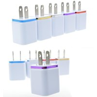 Wholesale Usb Ac Charger For Kindle - Wall Travel US EU plug Dual USB 1A AC Power Adapter Wall Charger Plug 2 port for mobile phone huawei nokia kindle LG Sony