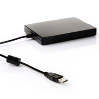 pc için harici disk sürücüsü toptan satış-1.44 Mb 3.5 inç usb harici taşınabilir disket sürücü disket pc fdd cas_20v