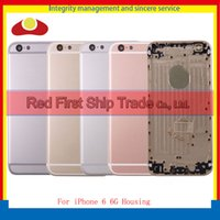 "Wholesale Iphone Golden Cover - High Quality 4.7"" For iPhone 6 6G and 6 6G Like 6S Back Rear Cover Battery Housing Door Chassis Middle Frame Grey Red Rose Gold White Golden"