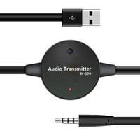 Wholesale Car Adapter For Tv - Car Bluetooth Audio Transmitter 3.5mm TV Bluetooth Audio Dongle BF-106 Bluetooth Adapter with Lotus Mouth for Mobile Phones MP3 MP4 Players