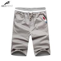 Wholesale Cheap Short Pants Men Wholesale - Wholesale-Cheap Sales 2016 Summer New Fashion Men'S Shorts Men Casual Shorts Cotton Men Solid Color Short Pants Beach M-3XL