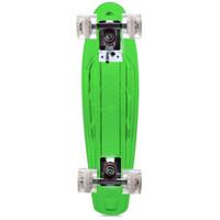 Wholesale Transparent Cruiser Board - CL - 403 22 inch Transparent PC LED Retro Skateboard Longboard Mini Cruiser
