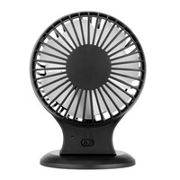 Wholesale Usb Dc Fan - USB Portable Rechargeable Mini Fan with Switch for Office Use DC 5V 500mA Super Silent Cooler High Air Flow Adjustable 2 Speed H15616B
