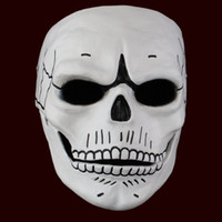 Film 007 JAMES BOND Gespenst Maske Schädel Skelett Scary Halloween Karneval Cosplay Kostüm Masquerade Ghost Party Resin Masken