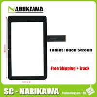 """Wholesale Navigator Gps 3g - Wholesale- Black New Touch Screen Touch Panel glass Digitizer Replacement for 7"""" GPS Navigator Explay Onliner1 3G Tablet Free Shipping"""