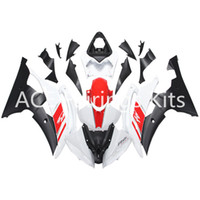 Wholesale Motorcycle Plastic Yamaha R6 - 3 gift New Fairings For Yamaha YZF-R6 YZF600 R6 08 15 R6 2008-2015 ABS Plastic Bodywork Motorcycle Fairing Kit White red Black style
