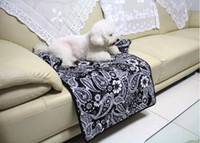 Wholesale Folding Sofas - Multi-Function Soft Folding Pet Dog Cat Mat Anti-slip Backing Material Bench Seat Cover High-end Sofa Protector Dog Bed Pad