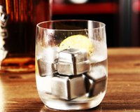 Wholesale Ice Cubes Glacier - Stainless Steel Whiskey Stones Ice Cubes Soapstone Glacier Cooler Stone Free Shipping