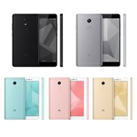 "Wholesale Pink Tv Mobile - Original Xiaomi Redmi Note 4X 4 X Mobile Phone Snapdragon 625 Octa Core 5.5"" FHD 3GB RAM 32GB ROM 13.0MP Camera Fingerprint ID"