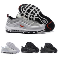 Wholesale Max Edition - New Maxes 97 Mens Low casual Shoes Cushion Men OG Silver Gold Anniversary Edition Sneakers Man Maxes Sport Athletic Sports Trainers Shoes
