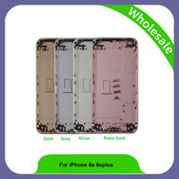 Wholesale Back Glass Door For Iphone - Housing For iPhone 6s High Quality Assembly Repair Parts Rear Glass For iPhone 6s 4.7 Back Cover Battery Door