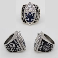 Wholesale Tiger Ring Band - New NCAA 2010 Auburn Tigers Football National Championship Starting Player's Ring, Custom Championship Ring