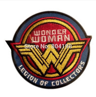 Wholesale Superman Patches - Funko Legion Of Collectors Batman Vs Superman Wonder Woman Embroidered Movie TV Series applique Sew On iron on patch