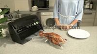 selador de alimentos sacos rolo venda por atacado-Casa Cozinha Nova Chegada Food Saver Máquina de Vedação A Vácuo Aferidor do Vácuo com Rolo e Saco De Cortador Dentro