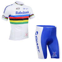 Wholesale Rabobank Bib Shorts - 2017 Tour de France rabobank Team cycling jersey  cycling clothing  cycling wear+Jersey bib shorts suit-rabobank