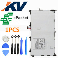 Wholesale Genuine New For Samsung Tab P7300 Battery Replacement with free epacket and repair tool kit