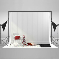 Wholesale Wood Floor Photography Backdrops - Kate 5x6.5ft Photo props Christmas Photography Backdrop White Wood Floor Photo Background Cotton No Wrinkle Can be ironed HJ02497