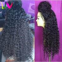 Wholesale Cheapest Afro Curly Wigs - Cheap Synthetic Lace Front Wigs With Baby Hair Afro Kinky Curly Wig Lace Front Natural Hair Wigs Synthetic Wigs Front Lace For Black Women