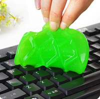 Wholesale Computer Gel Cleaner - Hot Magic Dust Cleaning High-Tech Transparent Cleaner Compound Slimy Gel keyboard cleaner super computer cleaner  monito for Keyboard Laptop