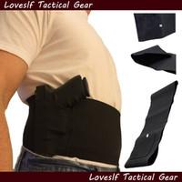 Wholesale Gun Waist - Belly band gun concealed holster outdoor tactical adjustable waist gun holster best price