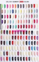 Wholesale Clear Top Coat Polish - new colors 294color Harmony Gelish Nail Polish STRUCTURE GEL Soak Off Clear Nail Gel top coat Foundation Top it off Nail art foundation gel