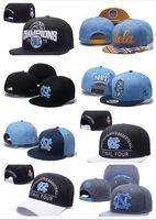 Wholesale Black Block Heels - 2017 NEW Men's Basketball Final Four North Carolina Tar Heels Snapback Hat Blue Black UNC Champions Blocking Embroidered UCLA Adjustabl