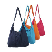 Wholesale Ladies Waterproof Messenger Bag - Wholesale-SAFEBET Korean Monolayer Swagger bag Got out Shopping Foldable Waterproof Shoulder bag Rain Handbags Cover Storage Messenger bag