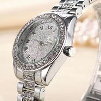 Wholesale Relojes Retro - Free shipping Top Brand Luxury Women Wrist Watches Classic Retro Steel Alloy Watches High-quality Quartz Wristwatch Elegant Relojes