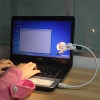mini ordinateurs chine achat en gros de-LED Night Lights USB Connect Mini Tableau Blanc Chaud 5V Ordinateur Lampes de bureau d'éclairage d'urgence avec batterie directe Shenzhen Chine Wholesales