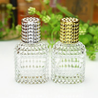 Wholesale Bottles 25ml - Wholesale- Free Shipping 25ml Refillable Perfume Glass Spray Bottle Empty Cosmetic Makeup Water Atomizer Bottles High Quality
