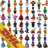 Wholesale Spiderman Toy Building - 120pcs Mix Lot Minifig Super Heroes Avengers Spiderman Space Wars Harry Potter Hobbit Figure Super Hero Mini Building Blocks Figures Toys