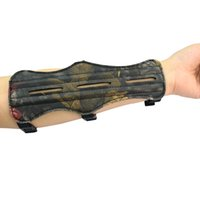 Wholesale Archery Arm Guards inch inch Lengthcolor Black Camouflage for choices for Hunting and Shooting Achery Outdoor Sports