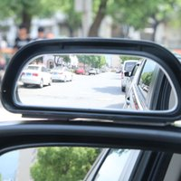 Wholesale Wide Angle Side View Mirror - 2 Pcs Universal Motorcycles Wide Angle Convex Rear Side View Blind Spot Mirror for Car Exterior