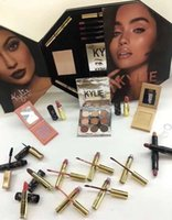 Wholesale Wholesale Beauty Items - Peacock The box by Kylie makeup set 21 in1 hot item mascara lipstick beauty set face makeup top quality