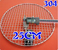Wholesale Grill Grids - Wholesale- round stainless steel 304 barbecue net,mesh bbq grill racks ,carbon bake grill net,round bbq grid,round grate bbq grills net