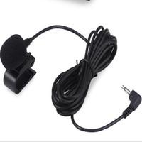 micrófono 58lc al por mayor-Micrófono de 3.5 mm Mic para la unidad estérea con Bluetooth Stereo Radio del GPS del coche del vehículo 1pcs / lot libera el envío