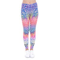 Polyester spot fitness - Women Leggings Colored Spots D Graphic Print Girl Skinny Stretchy Comfortable Pants Casual Gym Fitness Pencil Fit Yoga Trousers J43474