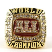 Wholesale Ali Box - Hot Sale 1964 1974 1978 boxing championship ring Muhammad Ali championship ring replica drop shipping