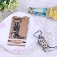 Funny Design Retro Boots Wine Beer Bottle Openers Vintage Can Boîte à bière Chaussures Shape Opener For Party favor gift