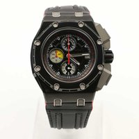Wholesale Michael Men Watches - Wholesale New 2016 Offshore Michael Schumacher Black Leather Bracelet Quartz MAN WATCH Wristwatch New Arrival Wristwatch +Free